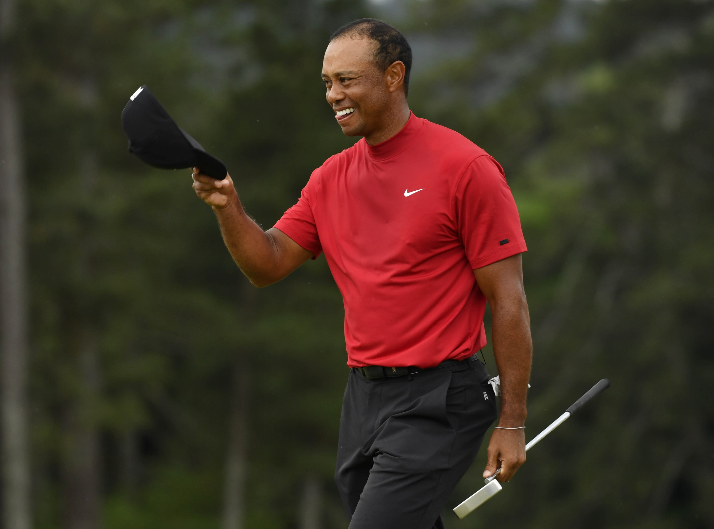 Trump awards Medal of Freedom to Tiger Woods