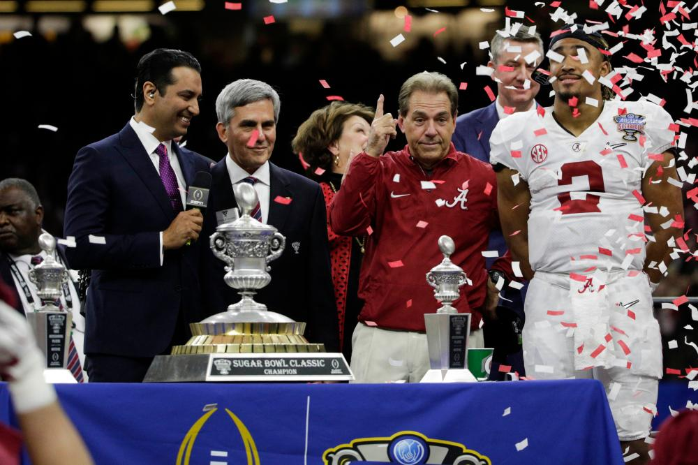 Saban faces former assistant in National Championship Game