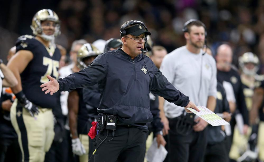 New Orleans Saints had a butt interception. Yeah, that's not a typo