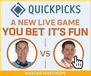 QP-Live-You-Bet-Its-Fun-NASCAR-Harvick-Hamlin-Matchups-Static-300x250