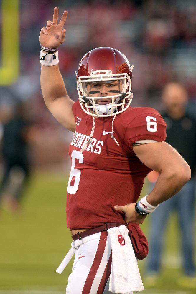 College football forecast: Mayfield faces last Heisman